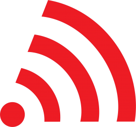 Wifi Icon Red PNG