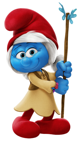 Willow Smurf PNG