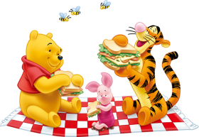 Winnie Pooh Tigger PNG