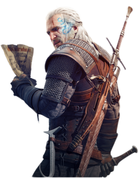 Witcher Geralt Of Rivia PNG