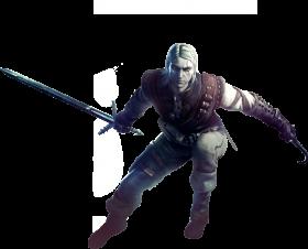 Witcher Geralt PNG