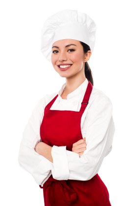 Woman Chef PNG