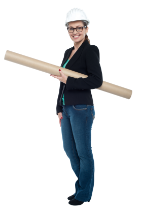 Women Architect PNG