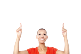 Women Pointing Top PNG