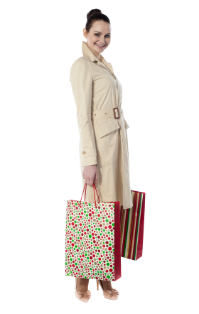Women Shopping PNG