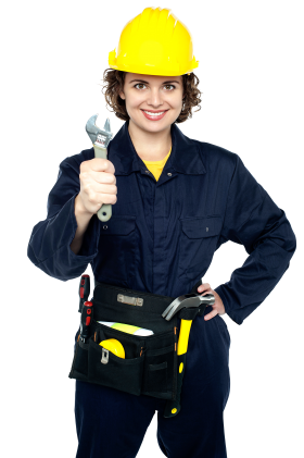 Women Worker PNG