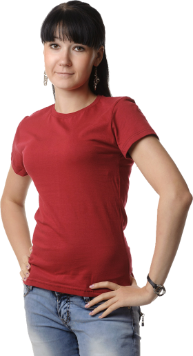 Women's Polo Shirt PNG