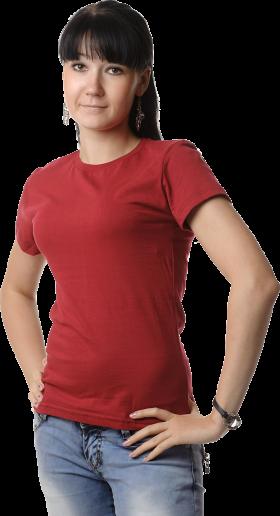 Women's Polo Shirt PNG