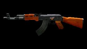 Wooden AK-47 PNG