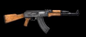 Wooden AK 47 PNG