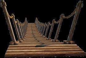 Wooden Bridge PNG