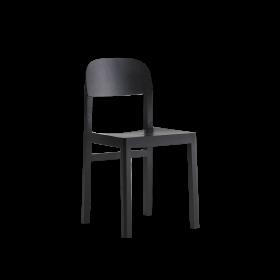 Workshop Chair Black PNG