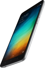 Xiaomi Phone Flying Sideways PNG