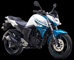 Yamaha FZ S FI White PNG