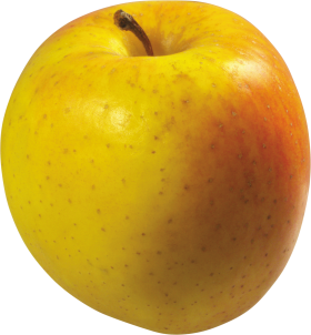 Yellow Apple PNG