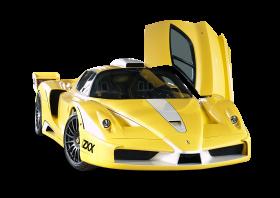 Yellow Ferrari Enzo Edo Car PNG