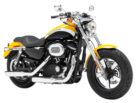 Yellow Harley Davidson 1200 Sportster PNG