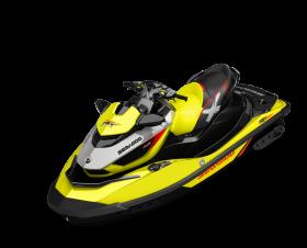 Yellow Jet Ski PNG