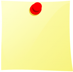 Yellow Sticky Notes PNG