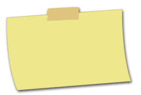 Yellow Sticky Ntes PNG