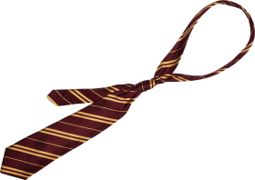 Yellow Strip Tie PNG