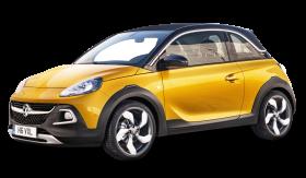 Yellow Vauxhall Adam Rocks Car PNG