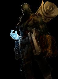 Zombie Ryze Skin PNG