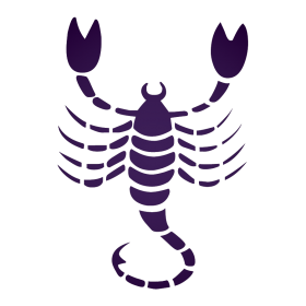 Purple Scorpio PNG