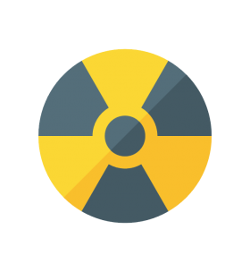 Radiation Warning Moder Styled PNG