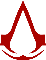 Red Assasins Creed Icon PNG