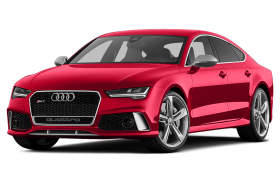Red Edition  Audi Luxury Car PNG