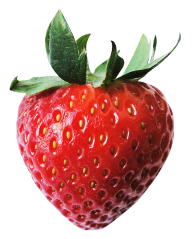 Red Juicy Strawberry PNG