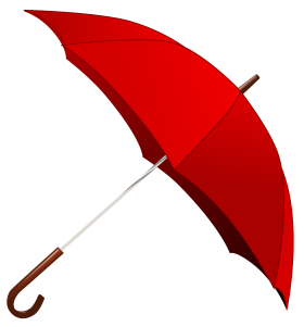 Red Umbrella PNG