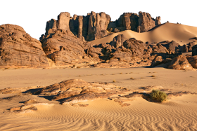 Rocky and Sandy Terrain PNG