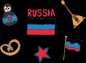 Russian symbols PNG