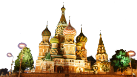 St. Basil's Cathederal - Russia PNG