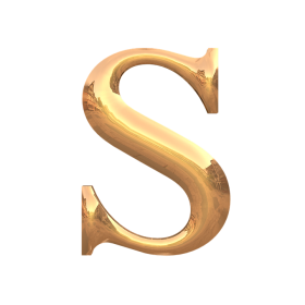 S Letter PNG