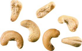 Scattered Cashews PNG