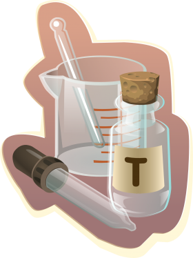 Science Lab Equipment PNG