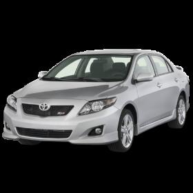 Sedan 2009 Toyota Corolla PNG