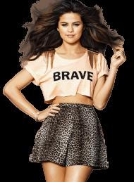 Selena Gomez Brave PNG
