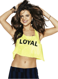 Selena Gomez Loyal PNG