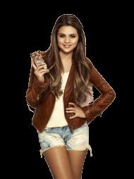 Selena Gomez Short Jacket PNG