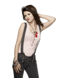 Selena Gomez Side PNG