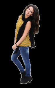 Selena Gomez Smiling PNG