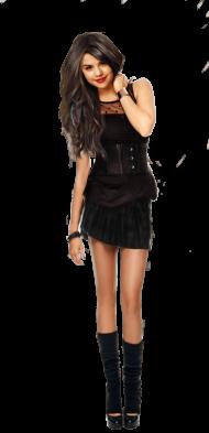 Selena Gomez Standing PNG