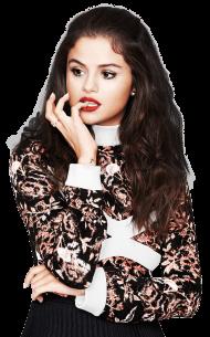 Selena Gomez Thinking PNG