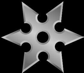 Shuriken 6 PNG