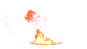 Small Fire on the Ground PNG