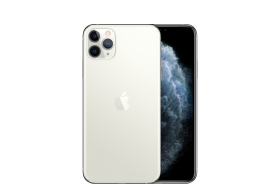 Smartphone iPhone 11 Pro Max Silver PNG